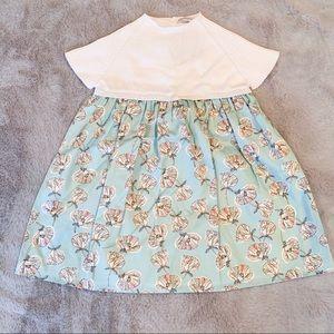 NWT Wedoble Boutique Knit Floral Print Dress 24M